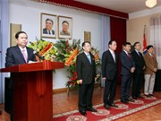 朝鲜最高领导人金日成访问越南60周年纪念活动在河内举行