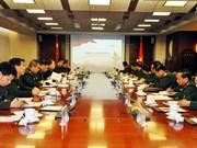 越南人民军总政治局与中共中央军委政治工作部进一步加强合作
