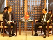 越南政府副总理郑廷勇高度评价韩国企业的地位和作用