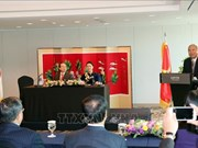 国会主席阮氏金银与越韩多元文化家庭代表会面