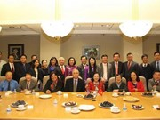 越南共产党代表团访问美国