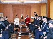 阮氏金银会见韩国李氏家族代表