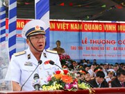 越南海军高级代表团访问印度