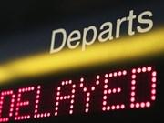 11月份越南各航司航班延误率超14%