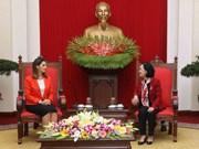 新阿塞拜疆党代表团对越南进行工作访问