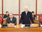 阮富仲:岘港市应出台引资和引才政策  特别注重引才工作