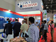 越南企业参加中东迪拜国际五大行业展