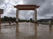 平定省洪涝灾害致6人死亡 数万间房屋被淹