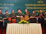 越柬加强合作维护边境稳定