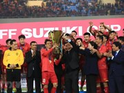 AFF Suzuki Cup 2018:国际媒体密集报道越南国足的胜利