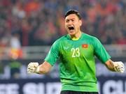 越南国足守门员文林成为马来西亚媒体最受关注的焦点
