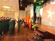 旅捷越南老战士协会举行见面会庆祝越南人民军建军74周年