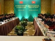 越中陆地边境口岸管理合作委员会第六次会议在河内召开