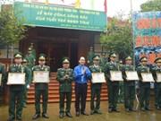 庆祝越南人民军建军74周年及全国抗战日72周年系列活动纷纷举行