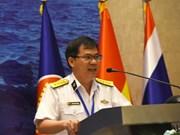 为第二届东盟海军多边演习建立初步计划