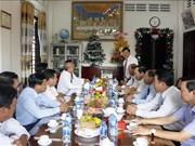 各省领导圣诞节前看望慰问宗教界人士