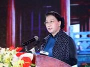 越南国会主席阮氏金银: 越南民族需要更加坚定地保护所取得的革命成就