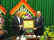 越南领导圣诞节前继续走访慰问天主教同胞