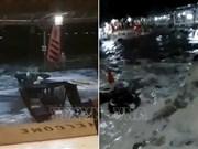 印尼万丹海啸:尚未收到越南公民在海啸中伤亡的报告
