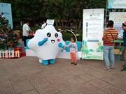 2018年越南清洁空气活动吸引1000人参加