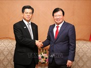 政府副总理郑廷勇会见日本客人