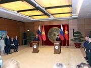 俄罗斯国家杜马主席圆满结束对越南进行的正式访问