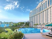 广宁省首家5星级高端度假村酒店群落成投运