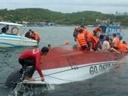 越南芽庄观光船发生翻船事故 包括中国游客在内的2人死亡