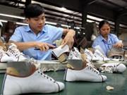 2019年越南鞋类力争出口额达到215亿美元的目标