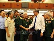 胡志明市市委书记阮善仁会见越南人民军退休高级干部