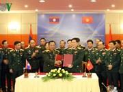 越南与老挝承诺深化防务合作