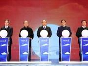 政府总理阮春福出席广宁省三个重大工程项目的竣工投运仪式