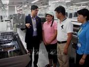 越南劳动总联合会对西宁省各家企业性别平等落实情况进行考察