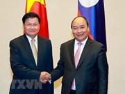 老挝总理将来越出席越老政府间合作委员会第41次会议