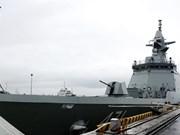 泰国海军护卫舰代表团访问岘港市