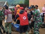 印尼发生严重山体滑坡导致数十人失踪