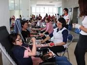 """2019年""""红色之春""""志愿献血节在清化省举行"""