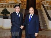 老挝总理赴越出席越老政府间合作委员会第41次会议
