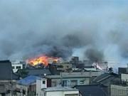 缅甸西部地区发生火灾 160多间房屋被烧毁