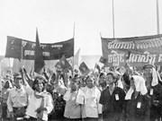 越共中央致电祝贺柬埔寨推翻种族灭绝制度40周年