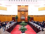 政府总理阮春福会见欧洲议会副议长海蒂