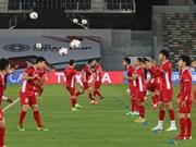 ASIAN CUP 2019:越南足球队充满自信迎战伊拉克队