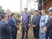 德国协助越南修复顺化皇城凤仙殿