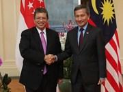 新加坡和马来西亚同意采取措施缓解领空与领海纠纷