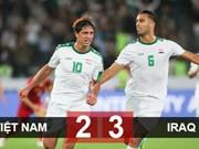 ASIAN CUP 2019: 国际媒体对越南队败于伊拉克队表示遗憾