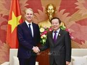 越南国会副主席冯国显会见美国辉瑞制药国际集团领导