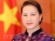 国会主席阮氏金银启程前往柬埔寨出席APPF-27
