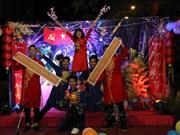 旅外越南人兴高采烈举行2019年迎新春活动