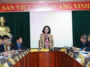 越共中央民运部部长出席越南劳动总联合会主席团第二次会议
