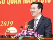 越共中央宣教部主动提供参谋意见  有效开展宣教工作